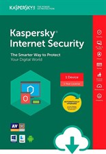 Kaspersky Internet security for PC & Mac 1 User for 1 year + 1 Devices Free