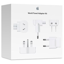 Apple travel adapter kit 5 piece
