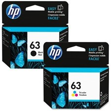 HP Original 63 Black and Color Ink