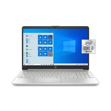 HP 15 - Ci3 10th Gen - 8GB RAM - 256GB SSD - Win 10 - 15.6 Inch Display