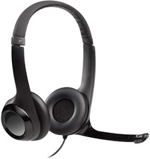 Logitech USB Headphone with noise cancelling Mic