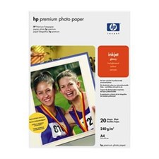 HP Premium Photo Paper A4 - 20 Sheets