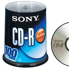 Sony CD-R 700mb - 100 Disks /Pack