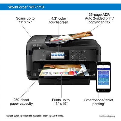 Epson WorkForce WF-7710 Wide-format All-in-One Printer A3